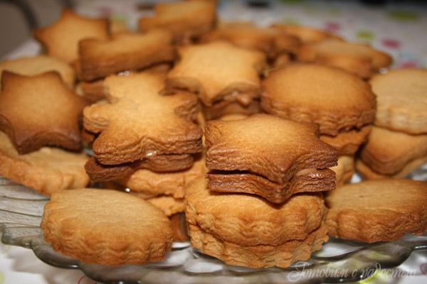 Печенье песочное в форме рецепт пошагово