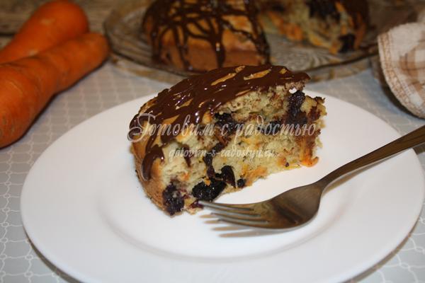 Пирог с морковкой